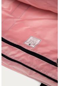 Różowa shopperka Champion z nadrukiem, duża, na ramię