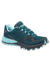 EVADICT - Buty do biegania w terenie MT2 damskie. Kolor: niebieski, wielokolorowy, turkusowy. Materiał: kauczuk. Szerokość cholewki: normalna. Sport: wspinaczka, bieganie