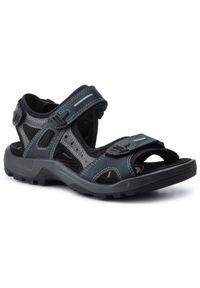 Szare sandały trekkingowe ecco na lato