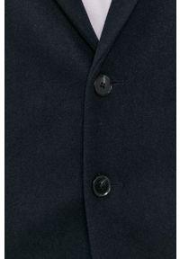 Jack & Jones - Płaszcz. Okazja: na co dzień. Kolor: niebieski. Materiał: tkanina. Wzór: gładki. Styl: klasyczny, casual