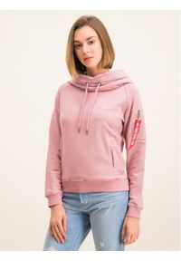 Różowa bluza Alpha Industries