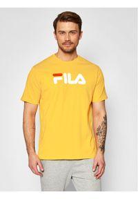 Fila T-Shirt Unisex 681093 Żółty Regular Fit. Kolor: żółty