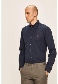 Niebieska koszula Polo Ralph Lauren casualowa, polo
