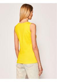 Escada Sport Top Emossani 5032602 Żółty Regular Fit. Kolor: żółty. Styl: sportowy
