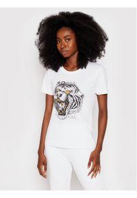 Togoshi T-Shirt Wildcat D Biały Regular Fit. Kolor: biały