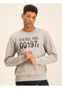 Diesel Bluza S-Girk-J3 00SDPY 0IAJH Szary Regular Fit. Kolor: szary