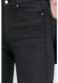 Young Poets Society - Spodnie. Stan: podwyższony. Kolor: czarny. Materiał: tkanina