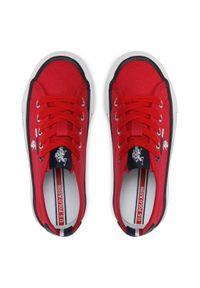 U.S. Polo Assn - Tenisówki U.S. POLO ASSN. - Wave149 WAVE4149S1/CY1 Red. Kolor: czerwony. Materiał: skóra ekologiczna, materiał. Szerokość cholewki: normalna #6