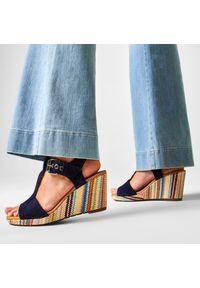 Niebieskie sandały Gabor casualowe, na co dzień