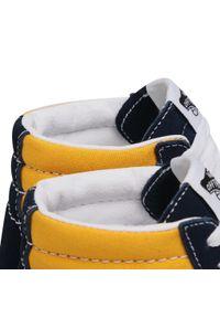 Vans - Sneakersy VANS - Sk8-Hi VN0A32QG4PL1 (Classicsport)Drsblssffrn. Okazja: na co dzień. Kolor: żółty, niebieski, wielokolorowy. Materiał: skóra, materiał, zamsz. Szerokość cholewki: normalna. Sezon: lato. Styl: casual. Model: Vans SK8
