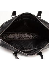 Czarna torba na laptopa Puccini