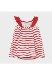 Mayoral Sukienka codzienna 1992 Czerwony Regular Fit. Okazja: na co dzień. Kolor: czerwony. Typ sukienki: proste. Styl: casual
