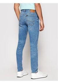 Lee Jeansy Malone L736LSTF Niebieski Skinny Fit. Kolor: niebieski
