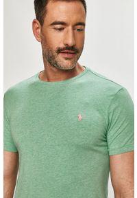 Zielony t-shirt Polo Ralph Lauren na co dzień, polo