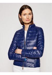 Niebieska kurtka przejściowa Patrizia Pepe