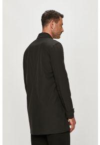 Czarny płaszcz Bomboogie na co dzień, casualowy, gładki