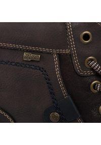 Brązowe buty zimowe Go Soft z cholewką, klasyczne