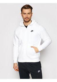 Nike Bluza Sportswear Club BV2645 Biały Standard Fit. Kolor: biały