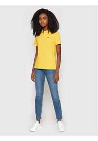 Żółta koszulka polo Lacoste polo