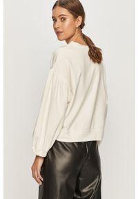 Biała bluza Jacqueline de Yong bez kaptura