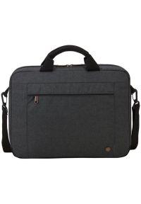 Szara torba na laptopa CASE LOGIC w kolorowe wzory