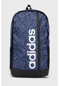 Adidas - adidas - Plecak. Kolor: fioletowy. Materiał: materiał