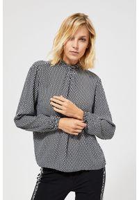 Koszula MOODO ze stójką, długa, z długim rękawem