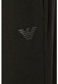 Czarne spodnie dresowe Emporio Armani