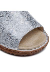 Srebrne sandały Ara
