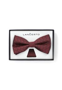 Czerwona muszka Lancerto elegancka