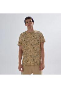 House - Koszulka Kosmiczny Mecz - Beżowy. Kolor: beżowy
