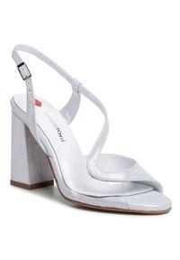 Białe sandały Maccioni wizytowe