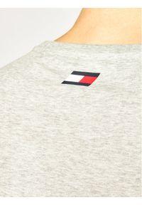 Szary t-shirt Tommy Sport sportowy