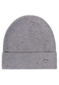 Szara czapka zimowa Strellson