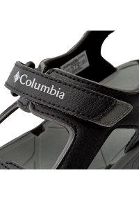 Czarne sandały columbia klasyczne, na lato