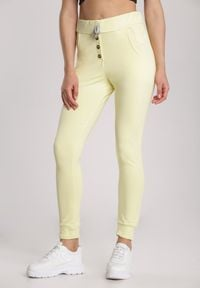 Renee - Żółte Spodnie Undinore. Kolor: żółty