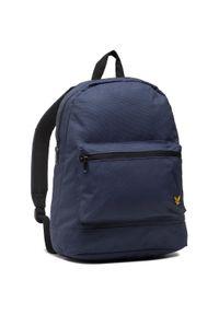 Niebieska torba na laptopa Lyle & Scott