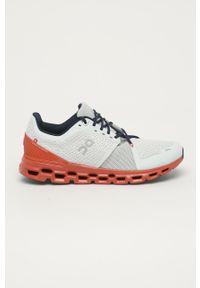 Wielokolorowe buty sportowe On Running z cholewką, na sznurówki