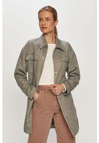Szary płaszcz Vero Moda gładki