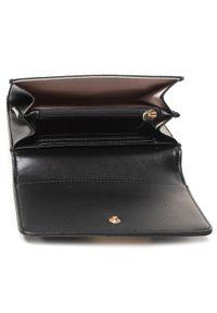 Czarny portfel TwinSet