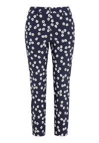 Niebieskie spodnie Cellbes w kwiaty, eleganckie