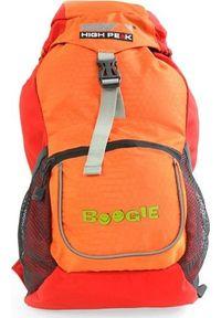 Pomarańczowy plecak High Peak