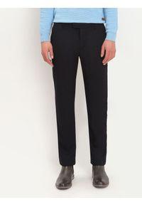 Niebieskie spodnie TOP SECRET na co dzień, długie