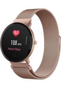 Złoty zegarek FOREVER smartwatch