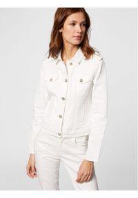Morgan Kurtka jeansowa 211-VICTOR Biały Regular Fit. Kolor: biały. Materiał: jeans
