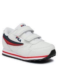 Fila Sneakersy Orbit Velcro Infants 1011080.98F Biały. Kolor: biały