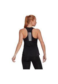 Adidas - Koszulka damska treningowa adidas Primeblue Move 3 Stripes GL3792. Materiał: poliester, skóra, materiał. Długość rękawa: na ramiączkach. Długość: długie. Sport: fitness