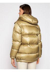 Złota kurtka puchowa Woolrich