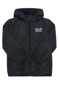 Czarna kurtka przejściowa EA7 Emporio Armani