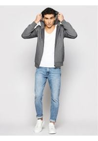 Lacoste Bluza SH1551 Szary Regular Fit. Kolor: szary